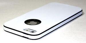 White-UltraThin-TPU-Soft-Rubber-Matte-PC-Bumper-case-cover-for-iPhone-5-Flim-Sp