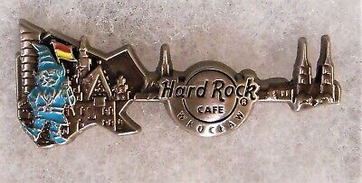 HARD ROCK CAFE WROCLAW LIMITED EDITION 3D SKYLINE GUITAR SERIES PIN # 98592