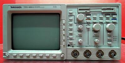 Tektronix Tds460a-05-1m-2f B082257 Tds460a Oscilloscope 400 Mhz 4 Channel