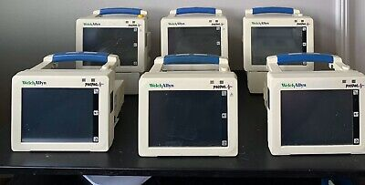 6 Welch Allyn Propaq Lot. 3 Chargers.