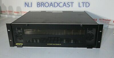 Evertz Xx 7800fr Frame With 2xpsu 3x 7800tm2-3g 3g Time Code Generators Emb