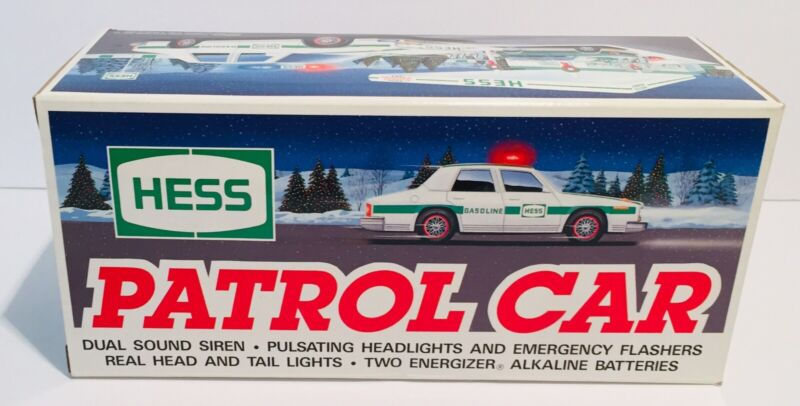 Hess 1993 Patrol Car Dual Sound Siren Headlights New Never Taken Out Of The Box