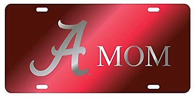 - Alabama Crimson Tide Laser Cut Mom License Plate/ Car Tag Inlaid Licensed NCAA