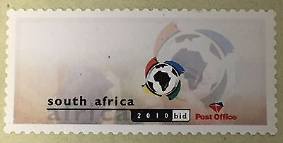 South Africa 2004 Machine labels FIFA 2010 bid, MNH, virtual stamp, SOCCER