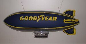 Goodyear Inflatable BLIMP NASCAR Memorabilia Display