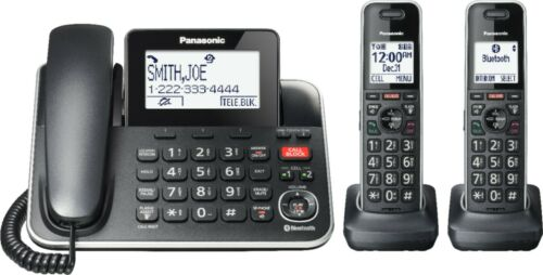 Panasonic KX-TGF882B Corded/Cordless Phone Black