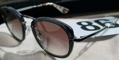 NWT NEW Prada PR 58US  VXB5O0 49-22-140 Grey Oval Sunglasses price tag (Tag Sunglasses Prices)