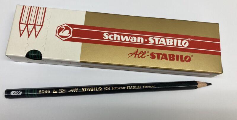 Schwan-Stabilo All Stabilo Black 8046 Full Box Of Pencils - GREAT PRICE!