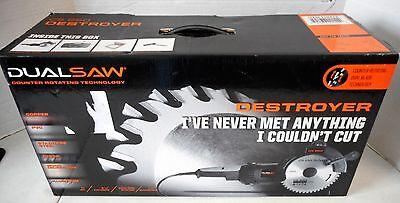 "DualSaw Destroyer CS650 Circular Saw 120V 6 1/4"" 4200RPM"