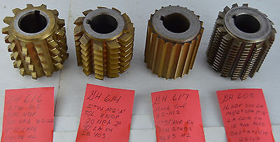 Pick One 1 Gear Hob Cutter 1 14 Bore Ndp Npa Fl La Check Listing 4 Sizes