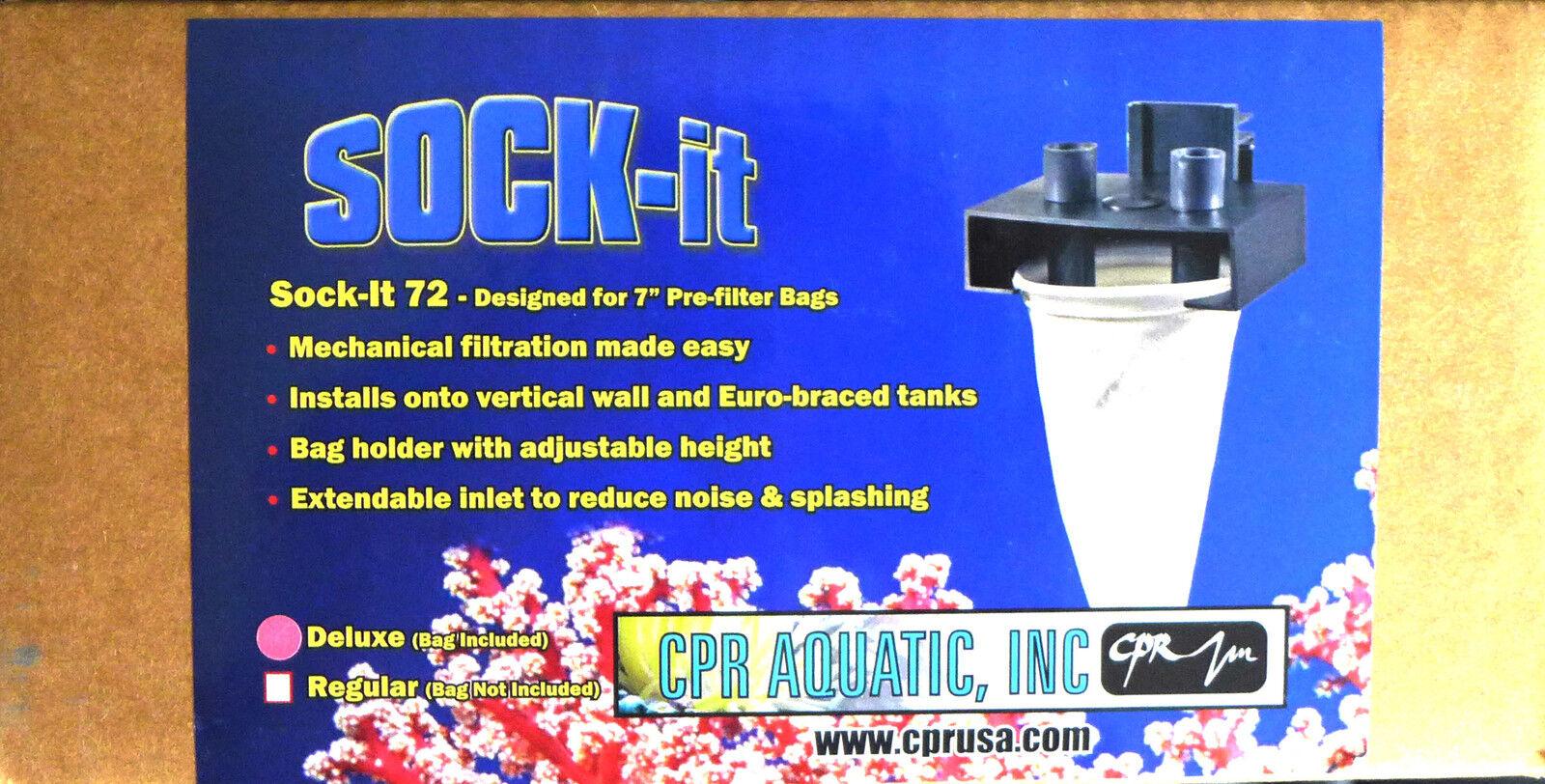 """CPR Aquatic Sock-it Dual 7"""" Deluxe Pre-filter Bags(bag In..."""