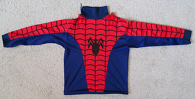 Vintage 1980s SPIDER-MAN Shirt HALLOWEEN COSTUME Child Size Movie Comic - 1980's Movies Halloween Costumes