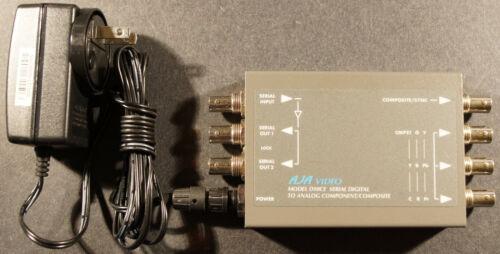 AJA D10CE SDI to Component/Composite Analog Converter
