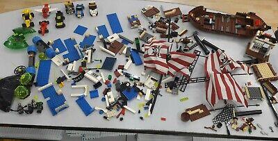 LOTTO LEGO GALEONE PIRATI-SPAZIO-CITY E ALTRO VINTAGE