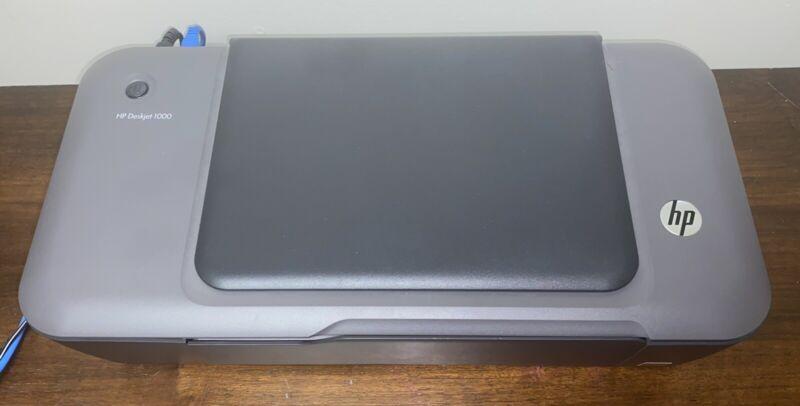 HP Deskjet 1000 Printer J110A USB with POWER ADAPTER
