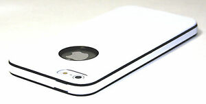 Apple UltraThin Slim Design Soft  Hybrid PC Bumper Case Cover For iPhone 5 5S G