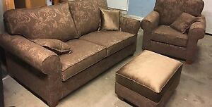 2 Piece Sofa Set with matching OTTOMAN  Stratford Kitchener Area image 3