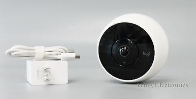 Logitech Circle 2 1080p Indoor/Outdoor Wireless Security Camera - White