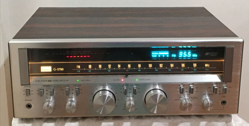 SANSUI G-5700 STEREO  RECEIVER