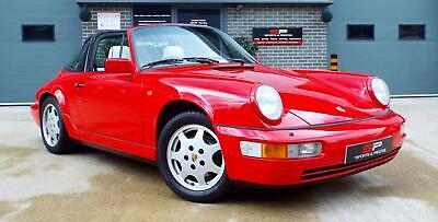 1991 Porsche 911 Targa 3.6 Auto Carrera 2 964 Guards Red