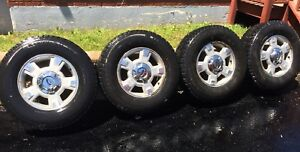 """4 wheels 17"""" for sale / 4 jantes 17 pouce 6x135 OEM FORD"""