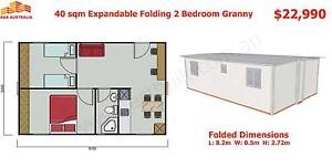 40.5sqm 2 Bedroom Expandable Folding Granny Flat OCTOBER SPECIAL Mount Annan Camden Area Preview
