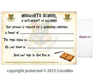 Harry Potter Birthday Invites Free Printables with adorable invitation ideas