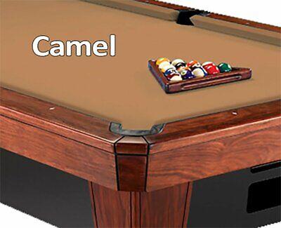 8' Oversized Simonis 860 Camel Billiard Pool Table Cloth Fel