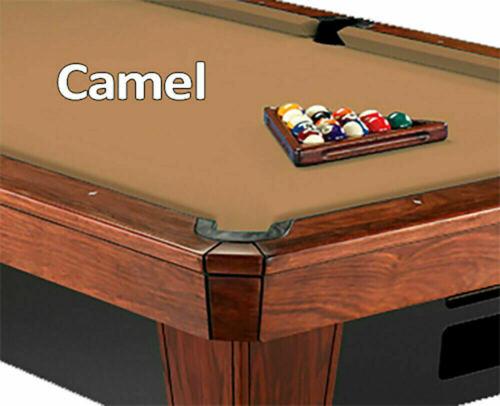 Pre-Cut Simonis 760SR Camel Billiard Pool Table Bed & Rail Cloth Felt 8