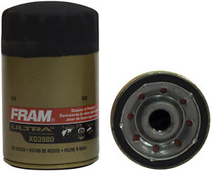 Fram Xg3980 Ultra Synthetic Engine Oil Filter Spin On Full