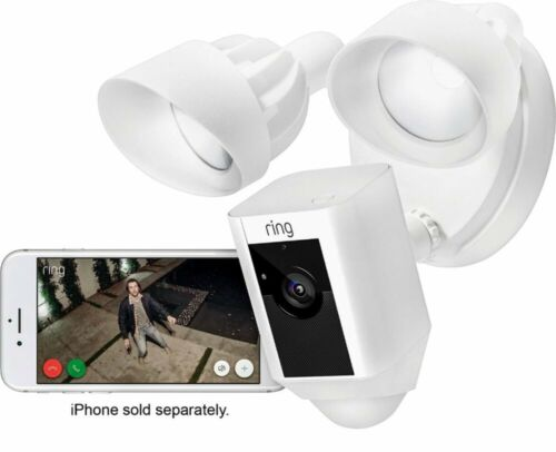 Ring Floodlight Camera HD Security 2-Way Talk, Motion-Activa