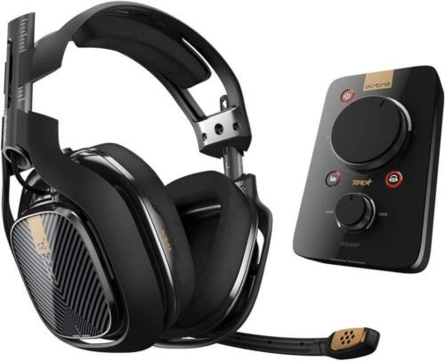 Astro Gaming A40 Wired Surround Sound Gaming Headset + MIXAMP Pro for PlayStation 4, PlayStation 3 and Windows Black 939-001511