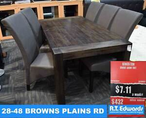 Kingston Dining Room Suite Browns Plains Logan Area Preview