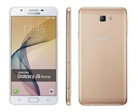 SAMSUNG GALAXY J5 PRIME WHITE GOLD 16GB UNLOCKED BRAND NEW WITH RECEIPT
