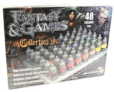 Scale 75 Fantasy & Games Collection Paint Set - 39035