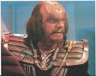 Christopher Lloyd - Star Trek III signed photo