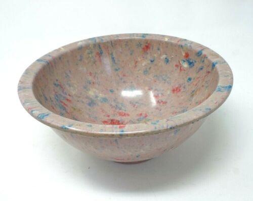 "Texas Ware 8"" Mixing Bowl #111 Melamine Melmac Confetti Speckled Splatter"