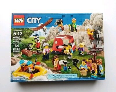 New Lego Set 60202 City People Pack Outdoor Adventures Factory Sealed NISB