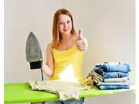 Ironing Starts from £1 only.