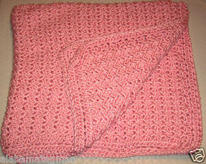 30-X36-PINK-COLOR-SHELL-DESIGN-BABY-BLANKET-GREAT-CHRISTMAS-GIFT