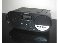 Sony ZS-PS55B Boombox CD Player DAB FM Radio