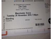 The Cure ticket