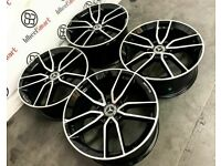 "NEW 22"" MERCEDES 53AMG STYLE ALLOY WHEELS *TYRES AVAILABLE* 5x112 DIAMOND CUT FINISH"