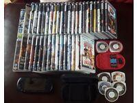 Psp, games, movies and memory sticks