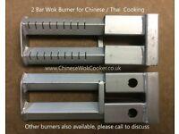 2 Bar Chinese / Thai Wok Cooker Burner