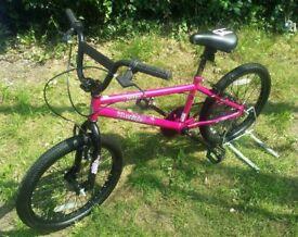 Silverfox Spiro BMX Bike Metallic Pink