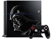 STARWARS LIMITED EDITION PS4 CONSOLE - 1TB - USED- BLACK - CAN BE SWAPPED IN STORE FOR OLD GADDGETS