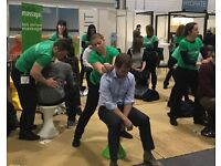 MASSAGE THERAPISTS WANTED - TOP EVENTS TEAM