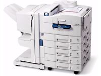 Xerox Phaser 7400DXF Colour Laser Printer & Booklet / Magazine Maker. 7400 DXF
