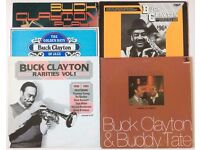 5 x Jazz LPs - BUCK CLAYTON Vinyl LP Albums In VG condition for sale as JOB LOT - All Listed/Graded